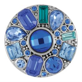 This snap from Ginger Snaps© features a medley of asymmetrical blue gems