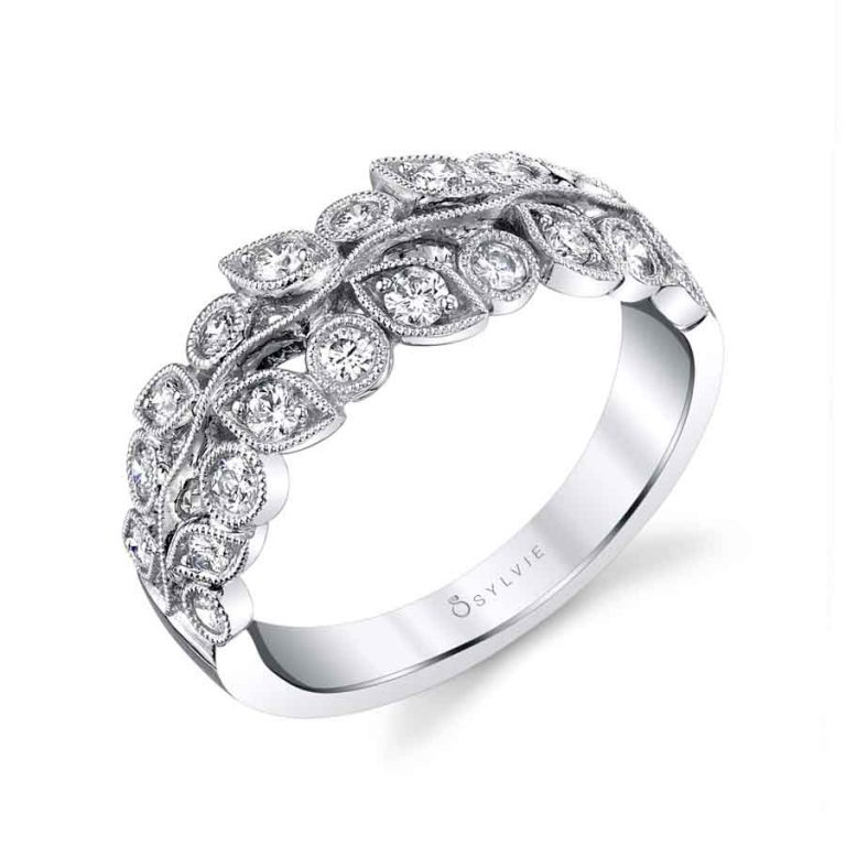 Floral Inspired Wedding Band