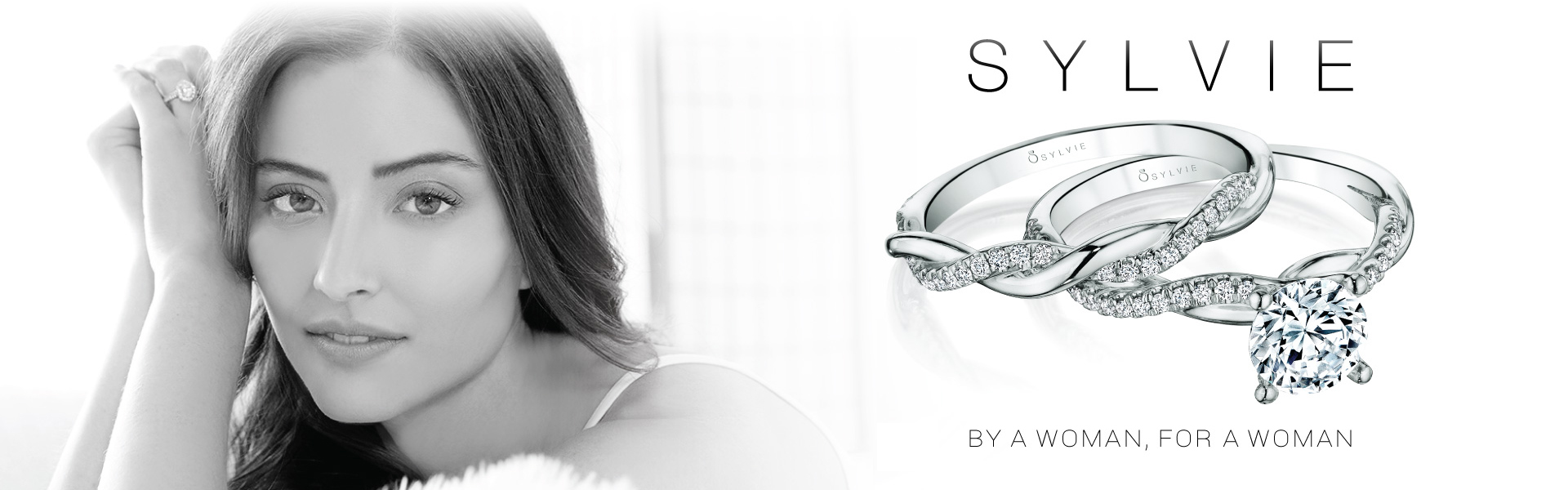 Diamond engagement rings from the Sylvie Collection