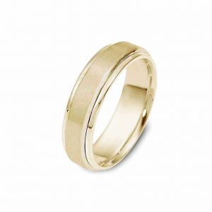 all yellow gold band